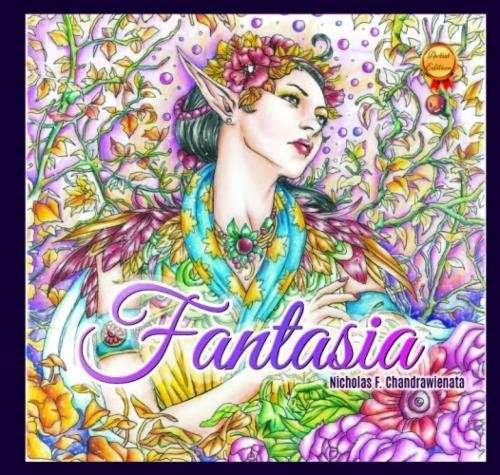 Fantasia Adult Coloring Book Second product image