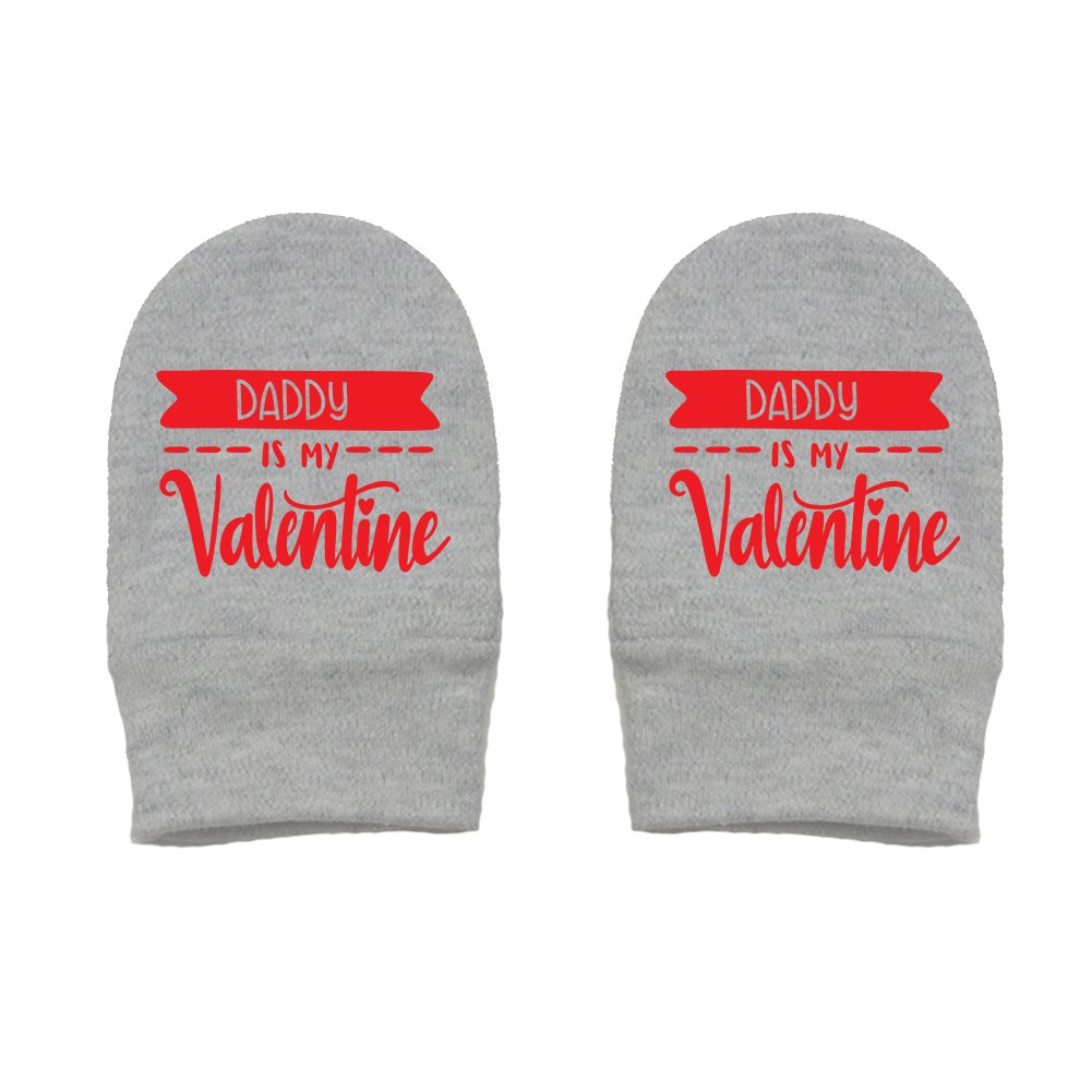 Mashed Clothing Unisex-Baby Valentines Day Thick Premium Thick /& Soft Baby Mittens Daddy Is My Valentine