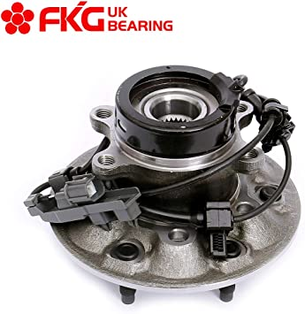 FKG 515110 6 Lugs W//ABS 2004-2008 GMC Canyon 2006 Isuzu I350 4WD Only 2007-2008 Isuzu I370 Front Left Side Wheel Bearing Hub Assembly fit for 2004-2008 Chevy Colorado