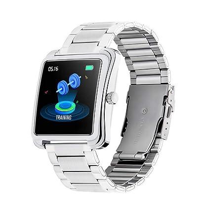 HHJEKLL Reloj Inteligente Smart Watch Sports Fitness ...