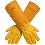 Acdyion Gardening Gloves for Women/Men Rose Pruning Thorn & Cut Proof Long Forearm Protection Gauntlet, Durable Thick…