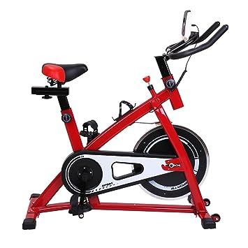 Bicicleta Estática Plegable Fitness para Fácil de Montar y de Plegar, Ahorra Espacio al Guardarla