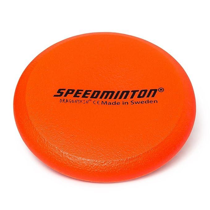 Speedminton Frisbee - Pelota de gomaespuma, Neon Naranja, 24 cm ...