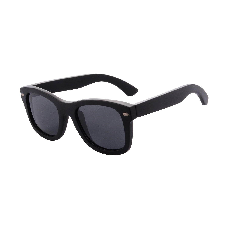 eec5296a75c SHINU Wooden Polarized Sunglasses Handmade SkateWood Summer Glasses UV400  Protection Outdoor Sports Sunglasses-Z68004  Amazon.co.uk  Clothing