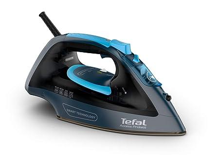 Tefal Access Protect FV1611E0 - Plancha de vapor 2100 W, no necesita configuración, golpe de vapor 100 gr/min, vapor continuo de 25 gr/min con suela ...