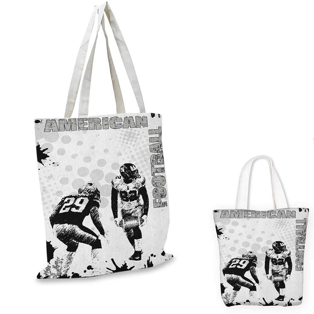 Sports canvas messenger bag I Love Baseball Heart with Baseball Ball Passion Valentine Leisure Time Joy canvas beach bag Red Black White 12x15-10