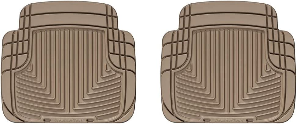 WeatherTech All-Weather Trim to Fit Rear Rubber Mats Tan