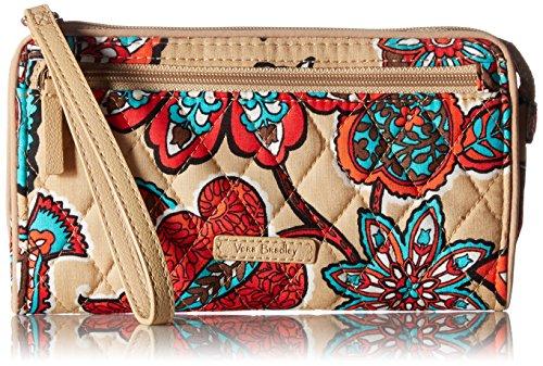 Vera Bradley Rfid Front Zip Wristlet, Signature Cotton by Vera Bradley