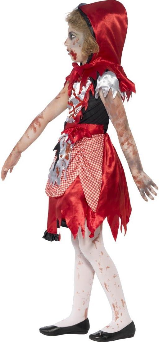 Zombie Kinderkostüm S 4-6 Jahre 115-128 cm böses Rotkäppchen Kleid
