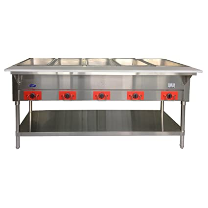 Amazoncom ATOSA CSTEB Open Well Electric Steam Table With - 4 well gas steam table