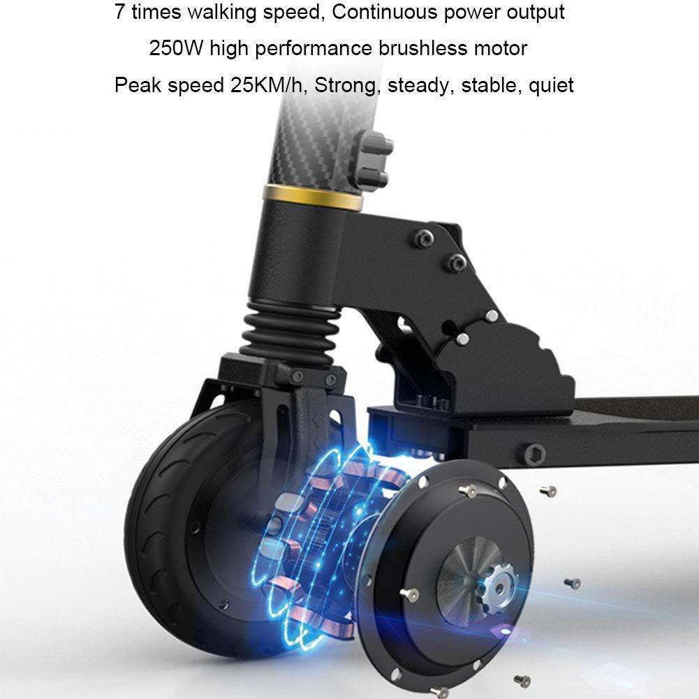Amazon.com: ZBB - Patinete eléctrico plegable de 5,5 ...
