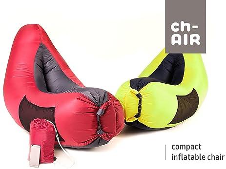 Amazoncom chAIR Inflatable Hammock Air Bag Lounge Chair Sofa