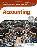 Cambridge International As & a Level Accounting Front Cover