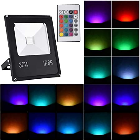 Fairyland - Proyector LED RGB de 20 W con Mando a Distancia ...