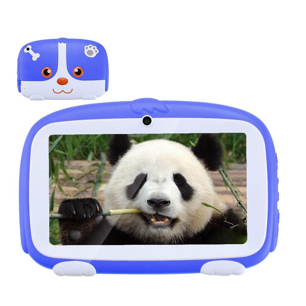 Haehne 7 Pollici Bambini Tablet PC - Google Android 6.0 Quad Core, 512 MB di RAM 8 GB di Memoria, Doppia Fotocamera 2.0MP+0.3MP, App per Bambini Incorporata, WiFi, Rosa Shenzhen Haina Tianyuan Ecommerce Co. Ltd. XZ-PAD-Kid-Pink