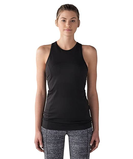 57e1469ce608e lululemon - Swiftly Tech T-Back - Black - Size 6  Amazon.ca ...