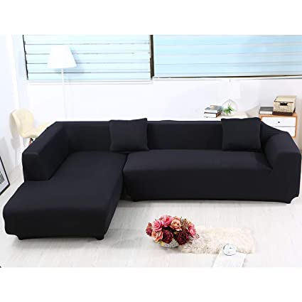 Amazon.com: Sand Sofa Slipcover SAFETYON Elastic Sofa Cover Sets L ...