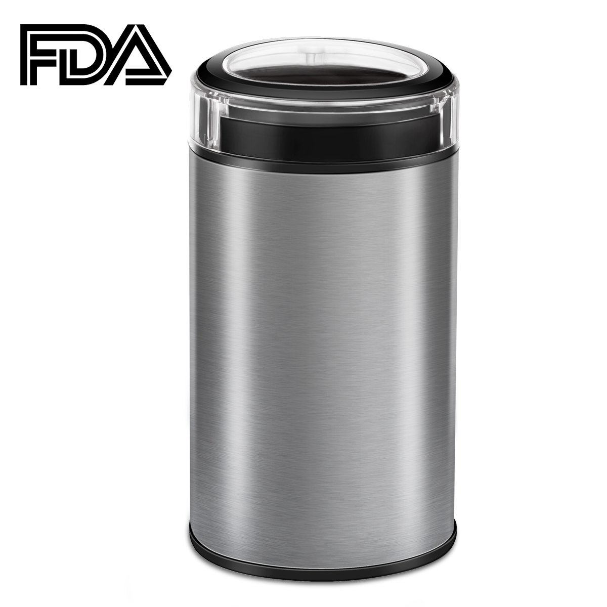 [2 Pack]Coffee Grinder Electric, TOBOX Multifunctional Stainless Steel Blade Coffee Grinder Fast Grinding Coffee Beans, Nuts, Grains, Spices