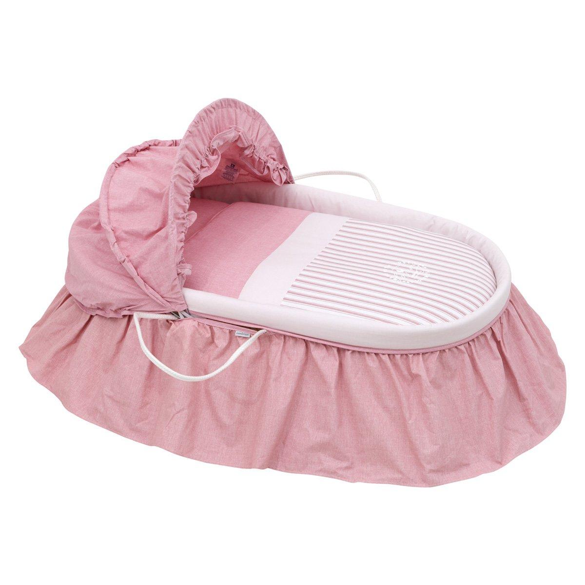 Cambrass Denim - Capazo con capucha, color rosa 38821