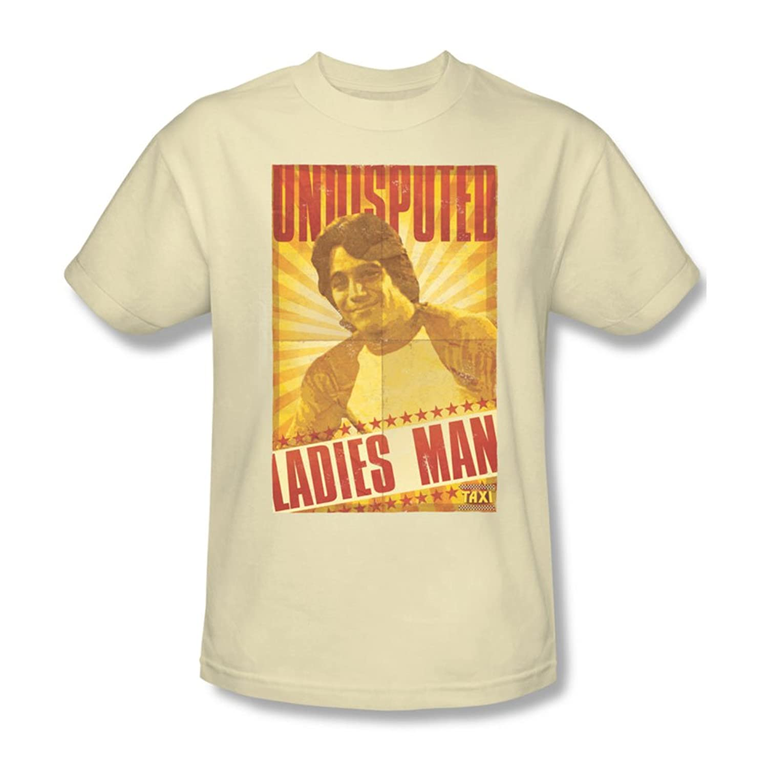 Taxi - Mens Ladies Man T-Shirt In Cream