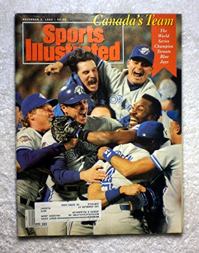 Series Si2 - Canada's Team - The 1992 World Series Champion Toronto Blue Jays - Sports Illustrated - November 2, 1992 - Atlanta Braves - SI-2