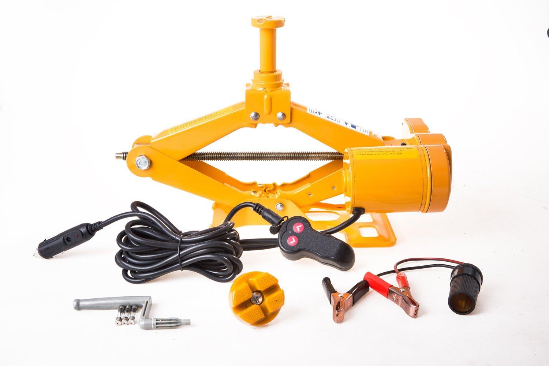 Elektrischer Scherenwagenheber 12Volt Scherenlift min.123mm max.345mm PKW  00271