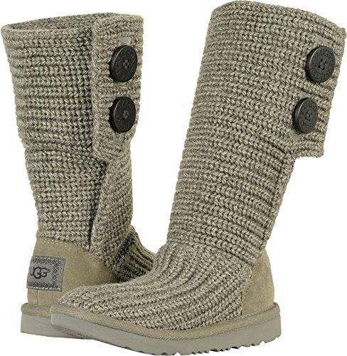 UGG Girls K Cardy II Pull-on Boot, Grey,