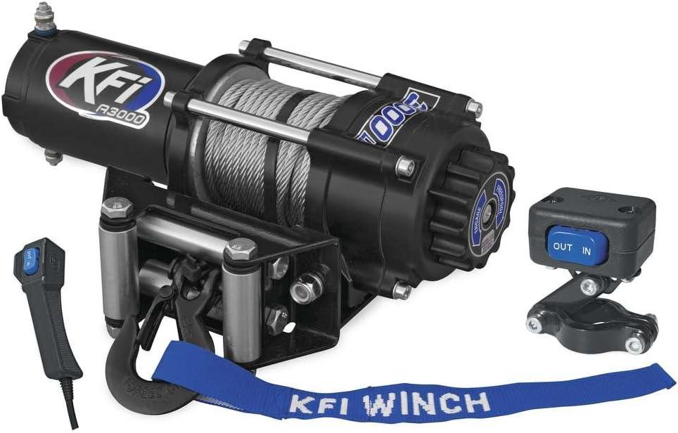 2006-2007 Polaris Sportsman 450 ATV New KFI 3000 lb Winch /& Model Specific Mounting Bracket