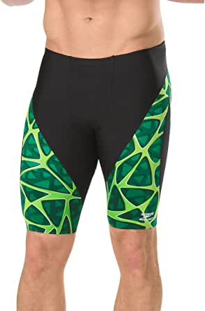 Speedo Men's Caged Out Jammer Endurance+ Swimsuit