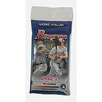 2 PACKS: 2021 Bowman MLB Baseball VALUE pack (19 cards/pk)