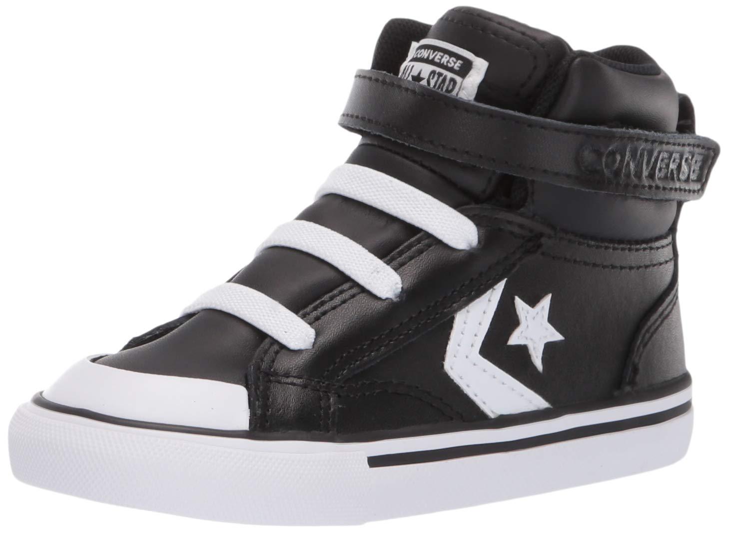 Converse Kids Infants Pro Blaze Strap Leather High Top Sneaker