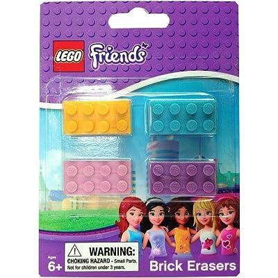 Lego Friends Brick Erasers: Toys & Games