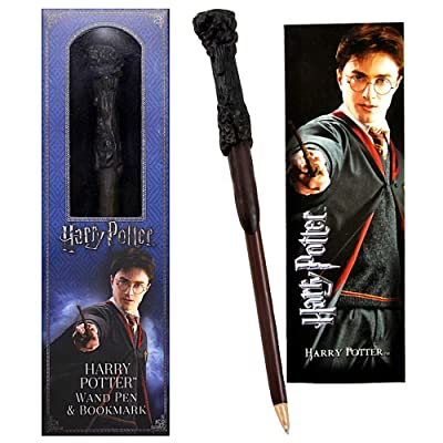 """Harry Potter Wand Pen & Bookmark 6"""": Toys & Games"""