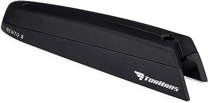 Black TorHans AeroBento Aerodynamic Frame Mounted Storage System