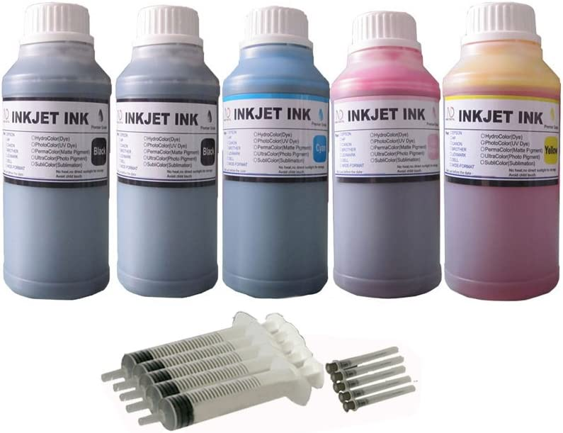 ND R@ 5X250ML Refill Ink kit for HP 950 951 950xl 951xl 970 970xl 971 971xl 932 933 934 935