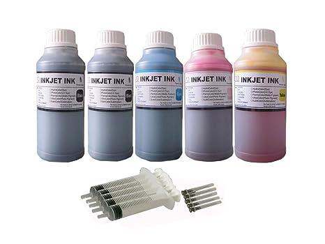 ND R@ 5X250ML(2BK+3C) refill ink kit for Epson 774 T774: Epson Expression  ET-3600 WorkForce ET-16500 ET-4550
