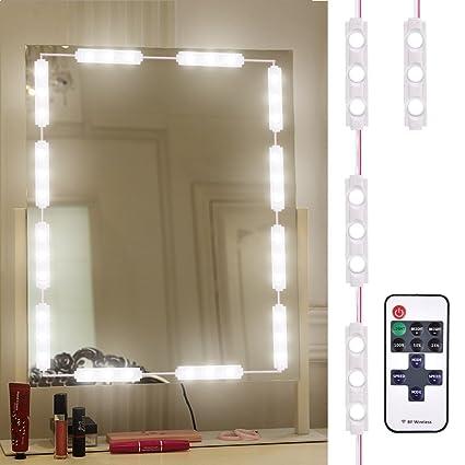 Diy Vanity Mirror With Led Lights Interesting Sararoom LED Vanity Mirror Lights Kit Makeup Mirror Light For DIY