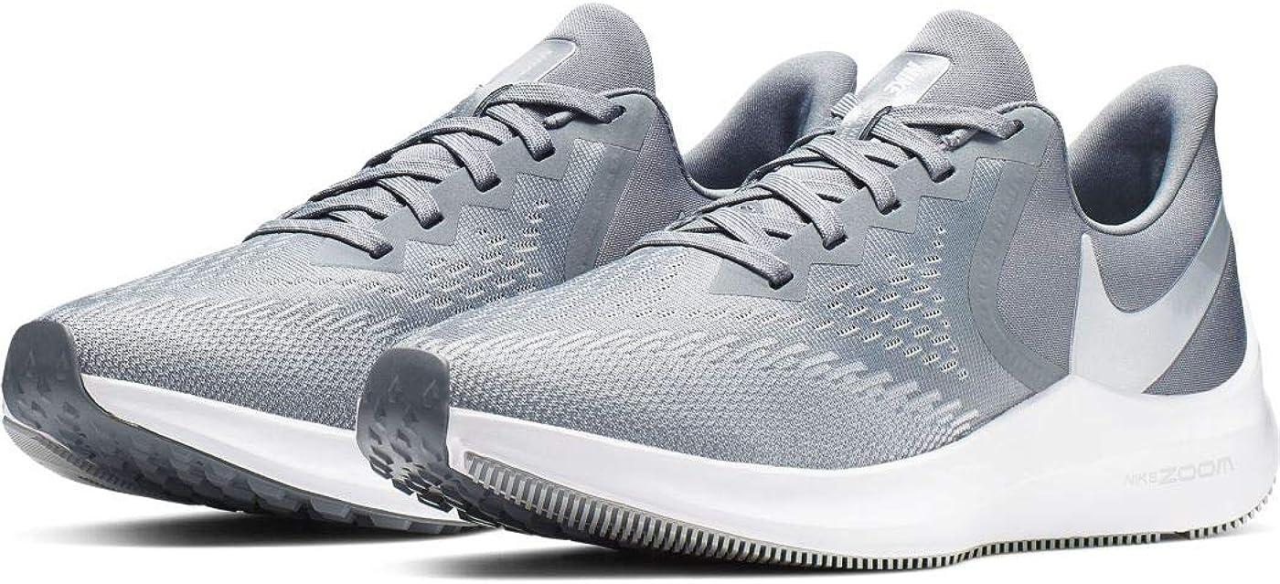 Nike Wmns Zoom Winflo 6, Scarpe da Atletica Leggera Donna Multicolore Cool Grey Mtlc Platinum Wolf Grey White 2