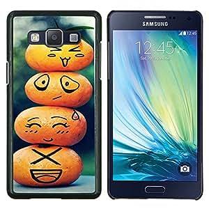 YiPhone /// Prima de resorte delgada de la cubierta del caso de Shell Armor - cvetok Korona voda - Samsung Galaxy A5 A5000