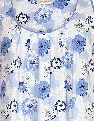 Cyberjammies Porcelain Doll Chemise de Nuit a Imprime Fleuri - Bleu 3017
