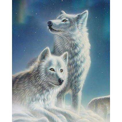 Nuevo paquete de Lobo Animal Patrón Inspirado Diseñador Tela De La Decoración