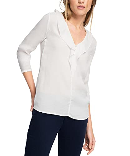 ESPRIT 046eo1f011-Floated Weiche Quality, Camicia Donna