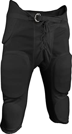 Medium Navy Sports Unlimited Double Knit Adult Integrated Football Pants