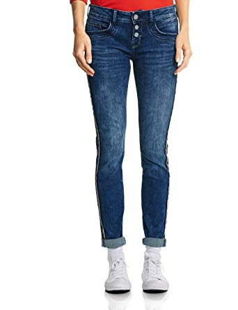 3f2e1ed2c3f9 Street One Damen Slim Jeans Crissi: Amazon.de: Bekleidung