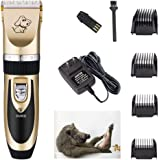 Zoeetree Household Dog Cat Clippers for Grooming, Safty Familiy Pets Grooming Trimming Set Hair Trimmer, Rechargeable Cordless Pet Shaver at Home