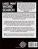 Large Print Word Search Puzzle Book: Jumble Of