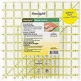 "Omnigrid 9-1/2"" Square Rulers Value Pack, 4-Count"