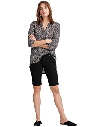 1676c12be4 Ellos Women s Plus Size Stretch Twill Bermuda Shorts at Amazon Women s  Clothing store