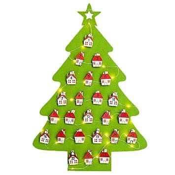 Weihnachtskalender Tannenbaum.Binwwe Adventskalender Weihnachtsbaum Mit 24 Kästchen Zum Befüllen