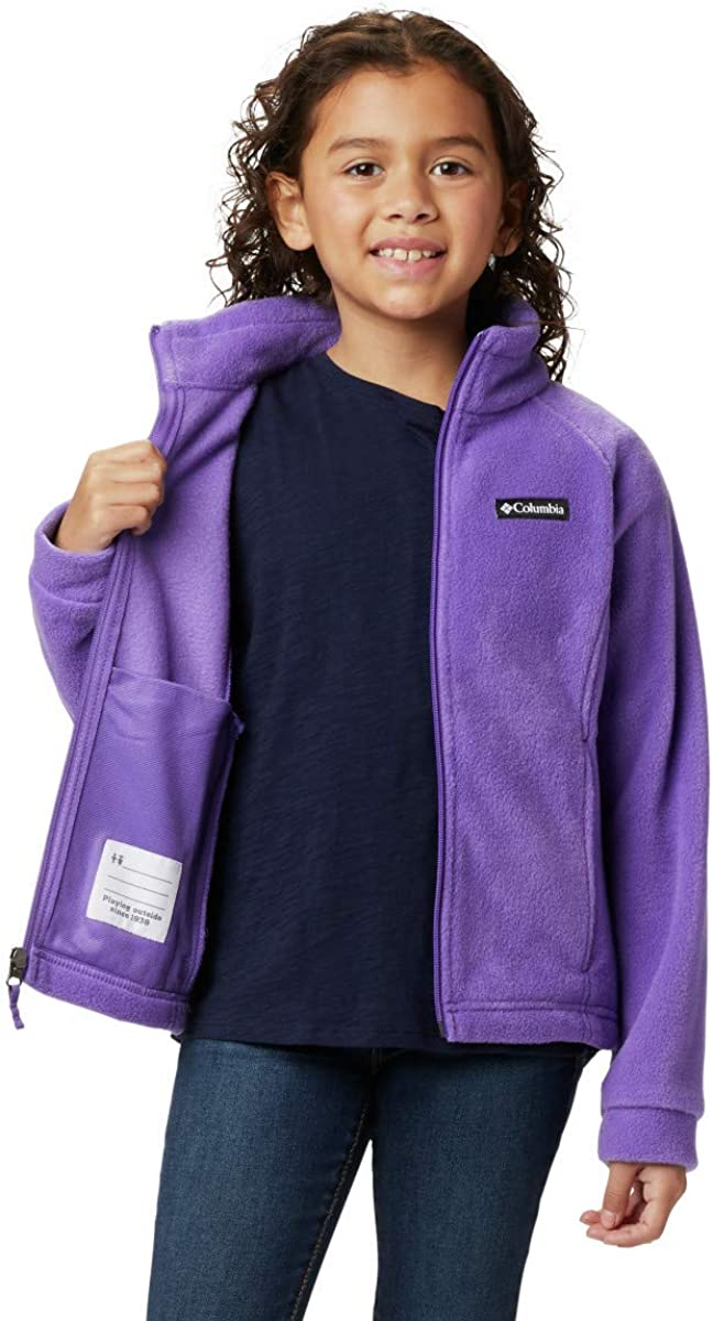 Classic Fit Sweaters Soft Fleece Columbia Girls Girls Benton Springs Jacket